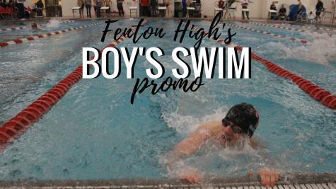 Varsity boy's swim season promo