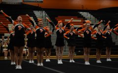 Varsity cheer holds Tiger Invitational