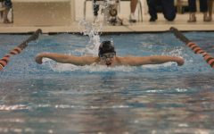 Boys swim competes in MISCA meet