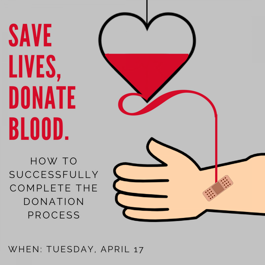 How to successfully donate blood