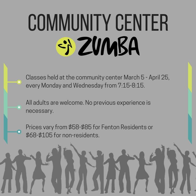 Fenton community center hosts zumba classes