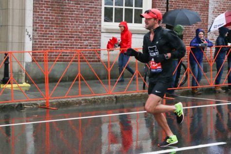 Cross country coach Jesse Anderson finishes 20th overall in the Boston Marathon