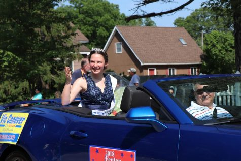 Chamber of Commerce's Fenton Freedom Festival crowns senior Jamie Elrod