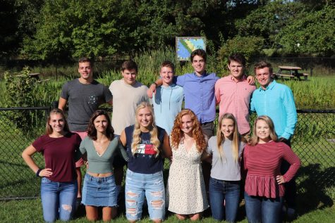 2018 senior homecoming court announced