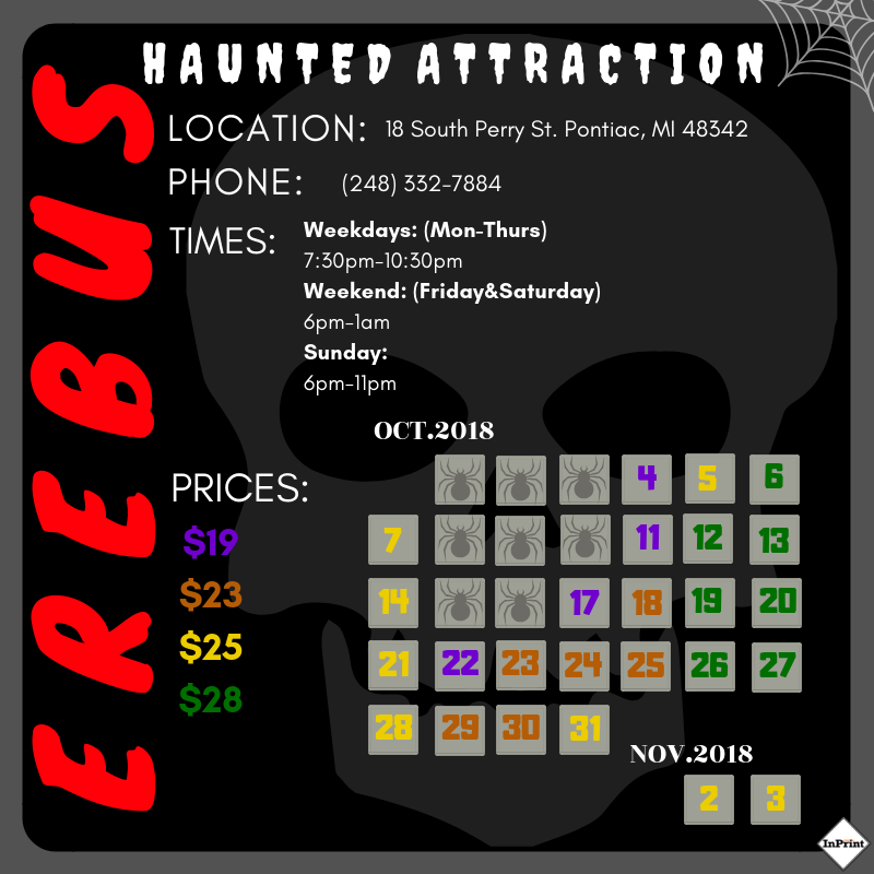 Erebus Haunted House review