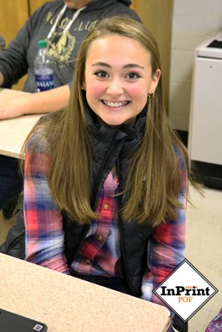 People of Fenton: sophomore Victoria Carnell