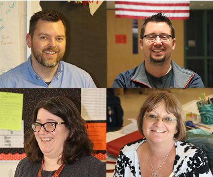 The new teachers of Fenton High