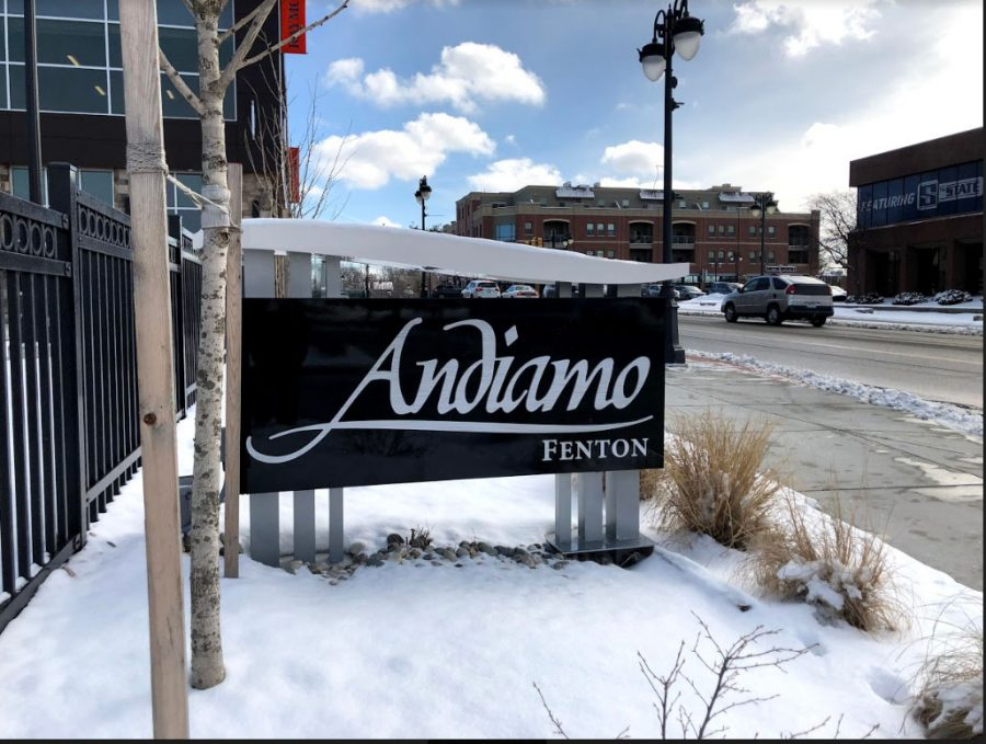 Andiamo+of+Fenton+opened+on+Feb.+8+in+downtown+Fenton.+