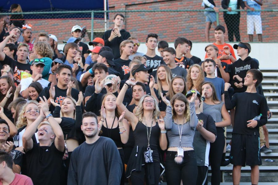 Opinion: Student sections at sporting events are too rowdy
