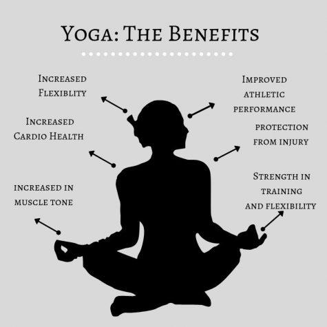 Spring athletes participate in yoga at Divine Yoga