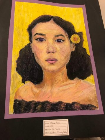 Award winning artist resides at Fenton High