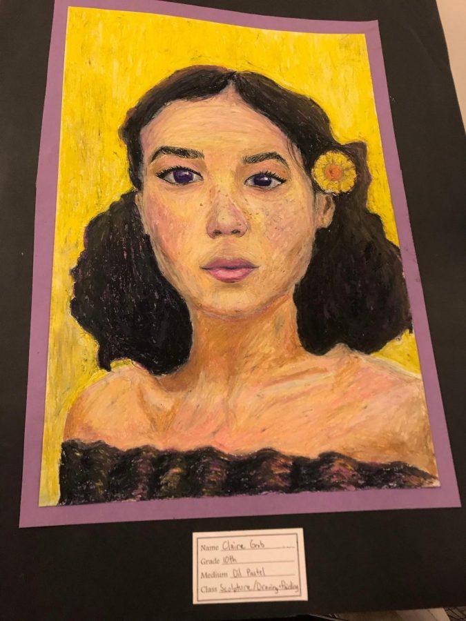 Award winning artist resides at Fenton High