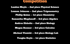 Fenton places second overall at annual FML Math and Science Competition
