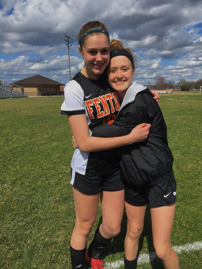 """""""I've been playing soccer for about 11 years,"""" freshman Celeste Hindmon said. """"My favorite part about the sport is how close you become with your teammates and the joy the sport brings me. I made varsity this year, which was nerve wracking at first, but now it's great. The upperclassmen have been very welcoming and the team environment is great. Everyone is really nice to me and we have all become a close team."""""""