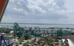 Student council members visit Cedar Point