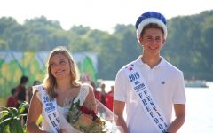 Freedom Festival King and Queen: Jacob Novak and Kaitlin Gruber