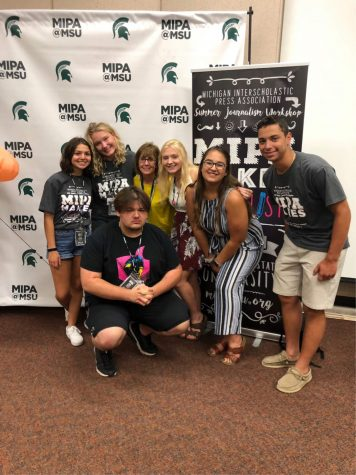 InPrint staff attends MIPA Summer workshop