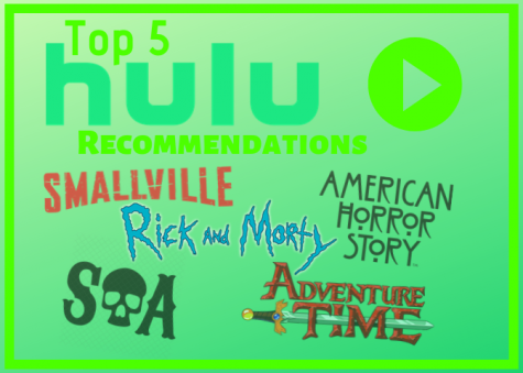 Top five Hulu recommendations