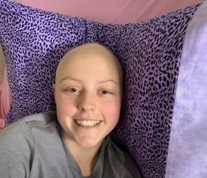 Eighth grader Makenzie Lawson battles leukemia