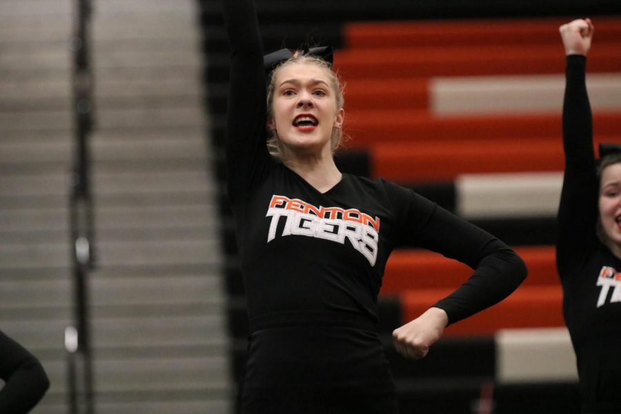 """""""This year has exceeded my expectations; I thought that we'd have a good year, but I wasn't expecting us to place at districts and make it to regionals for the first time in our schools history. We lost a lot of experienced people this year, and it's awesome to see this team come together to make something special happen. Hopefully we can build on this next year and make this more than a one time thing."""" - junior Mackenzie Durant"""