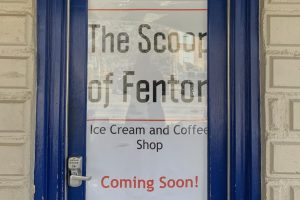The Scoop of Fenton ice cream parlor will open this spring