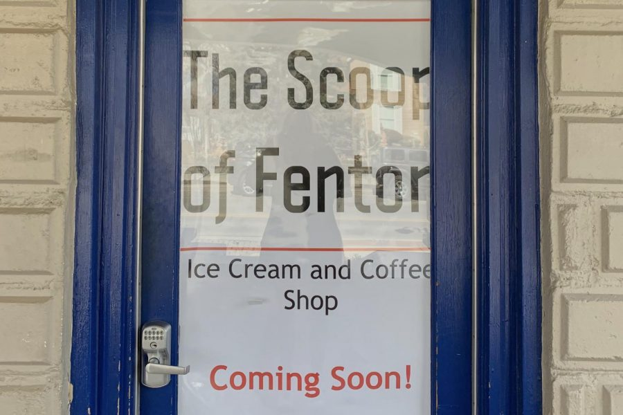 The Scoop of Fenton, located on West Shiawassee Avenue, plans to open in the first or second week in April.