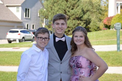 """""""I'm passionate about my family more than anything. My family is always there to support me so I want to help them through anything I can. Being a great big brother is always something that I want my siblings to think of me. I know that they look up to me so I always lead them by example."""" - sophomore David McDermott"""