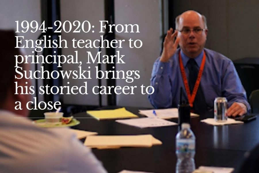 Principal Mark Suchowski retires after 26 years at Fenton High