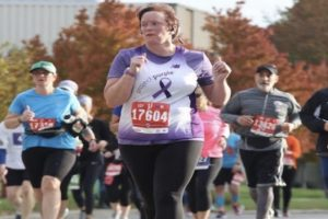 AGS teacher Jill Smigielski runs half marathon