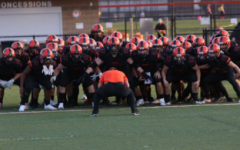 Varsity football team starts the season off strong with the new restrictions
