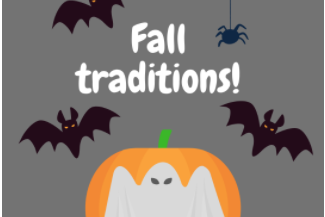 Traditions families participate in during the fall