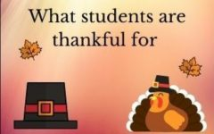 What students are thankful for