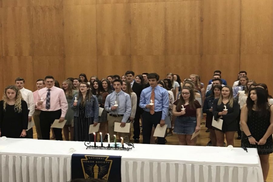 National Honor Society plans to induct new members