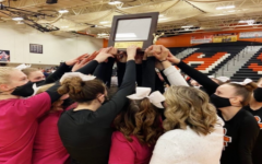 Competitive cheer team wins flint metro league championship
