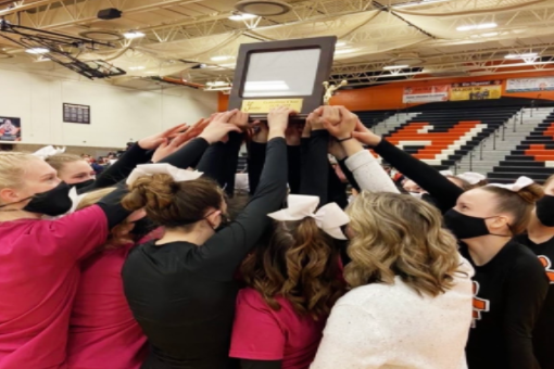 Competitive cheer team wins flint metro league championship