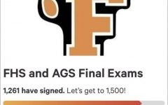 FHS student petition to change final exams