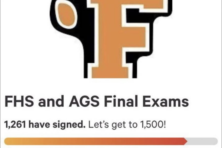 ‌FHS student petition to change final exams
