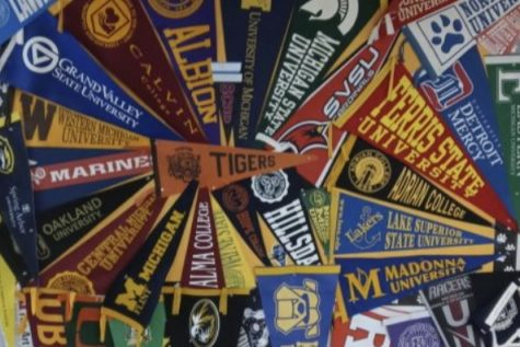 College visits return to surrounding high schools