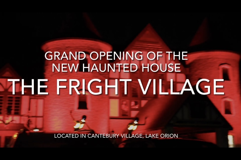 Video: Fright Village haunted house grand opening