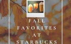 Starbucks fall favorites